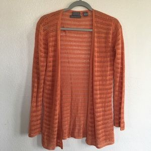 Sigrid Olsen Hand Knitted Open Front Cardigan